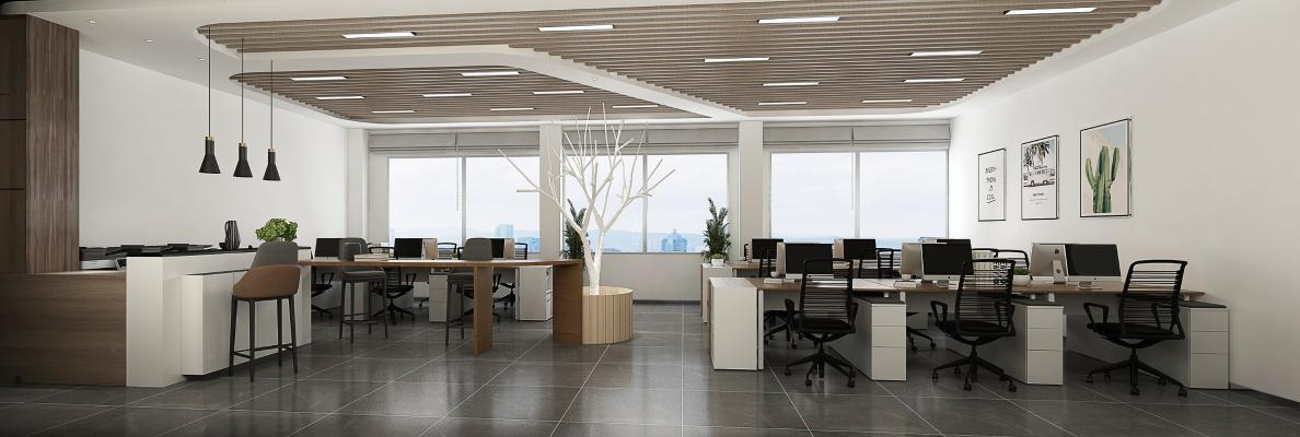 现代简约办公室