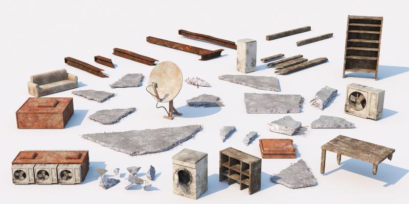 现代工业设备 钢筋