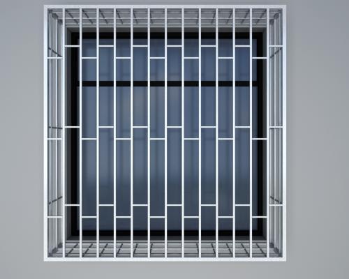 现代窗台不锈钢防盗窗 防护窗 防盗网