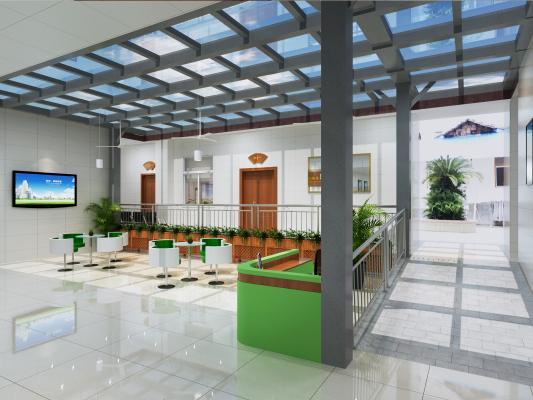 现代医院 接待室 服务大厅
