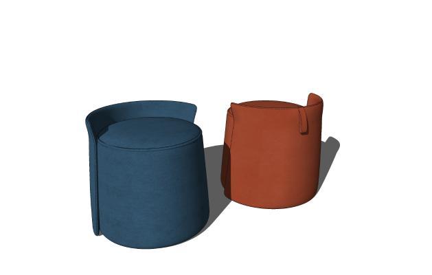 现代时尚沙发凳