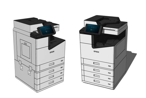 现代打印机 复印件 办公器材