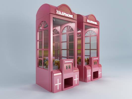 现代娃娃机 游戏机
