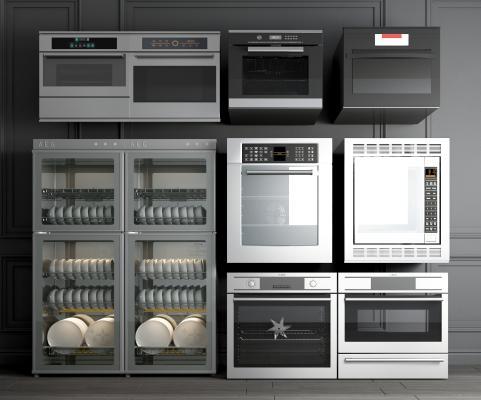 現代消毒柜 洗碗机 烤箱