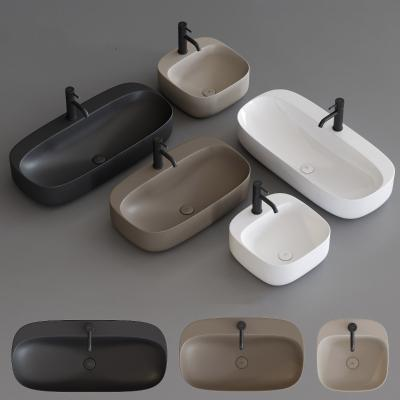 现代水槽 洗手盆 洗手台