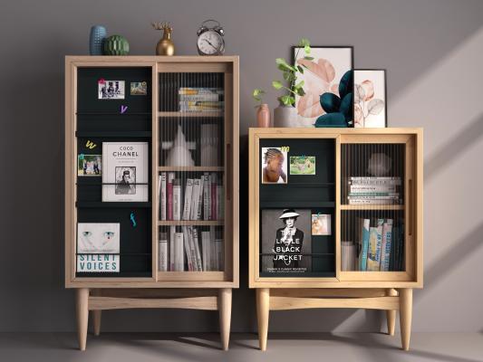 现代装饰柜架 置物柜