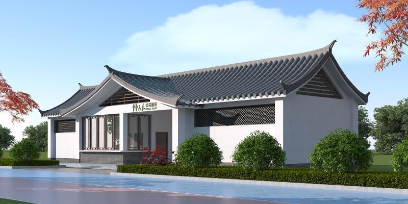 新中式公厕