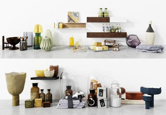 现代洗护用品 洗浴用品 厨卫用品