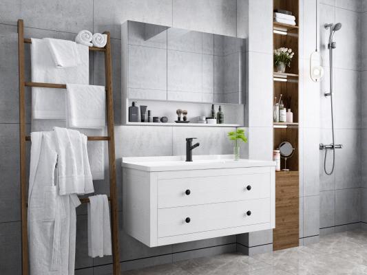 现代卫生间 浴室柜