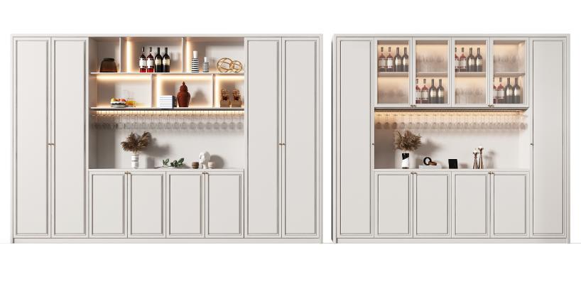 美式 酒柜