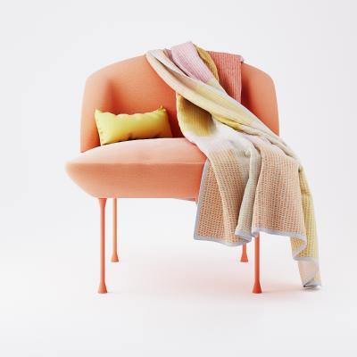 现代休闲椅 创意椅子 单人沙发