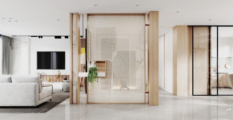 现代门厅 玄关