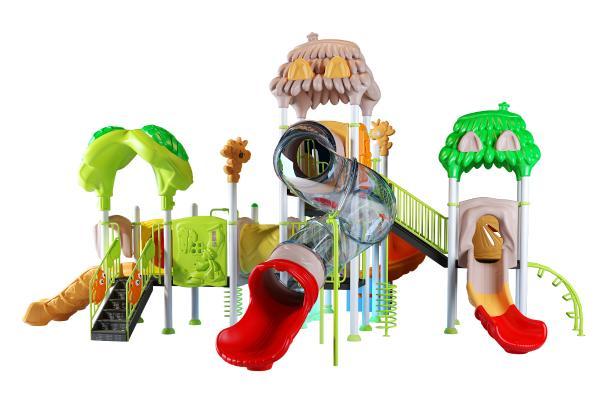 现代儿童滑梯 娱乐器材 游乐设备