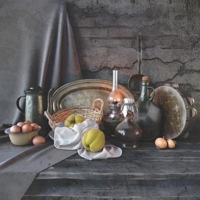 北欧餐具 美术静物写生