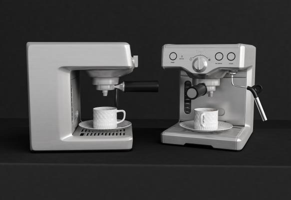 现代咖啡机 榨汁机