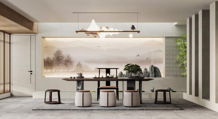新中式茶室