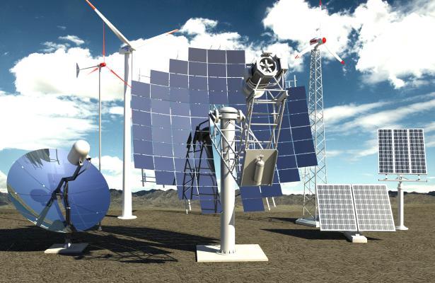 现代风格卫星信号接收器雷达