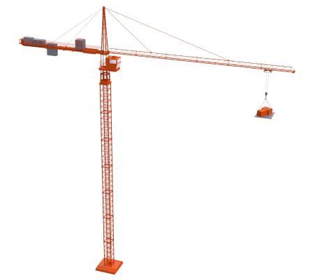 现代塔吊 吊塔 吊车