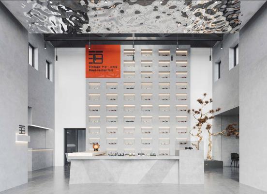 新中式专卖店 鞋店