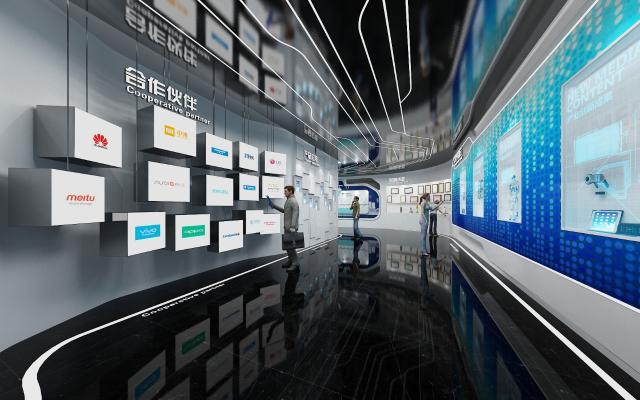 现代科技展厅 显示屏