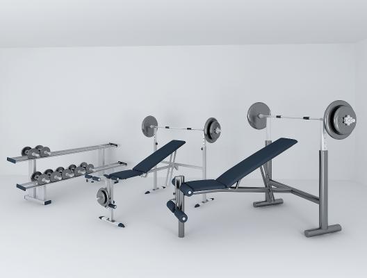现代体育用品 健身器材组合