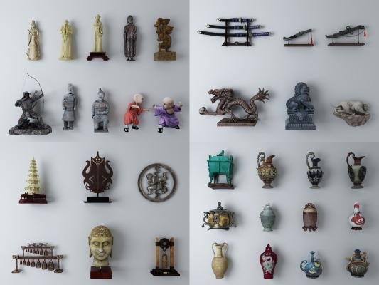 中式古董 摆件 饰品