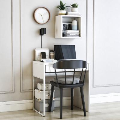 现代书桌椅组合 架子