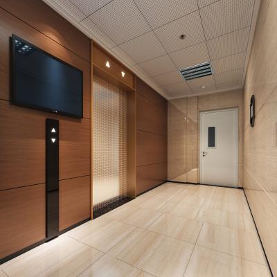 现代公司过道 电梯间走道