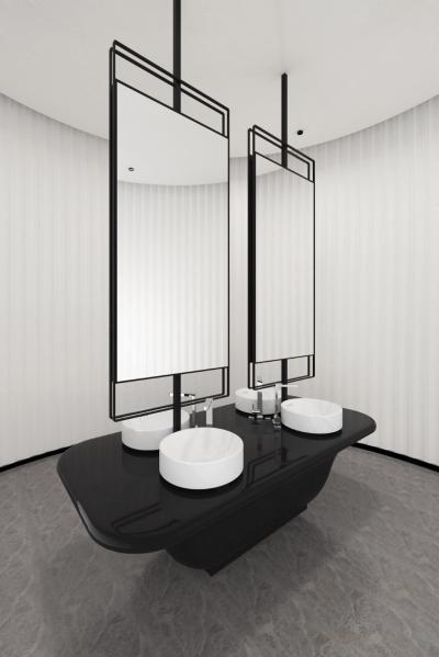 现代卫浴组合 洗手台