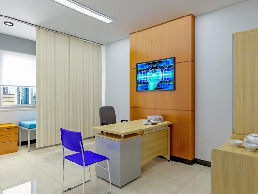现代医院 诊室