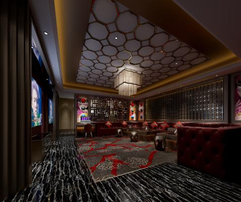 新中式KTV 火吧 酒吧 娱乐会所 慢摇吧
