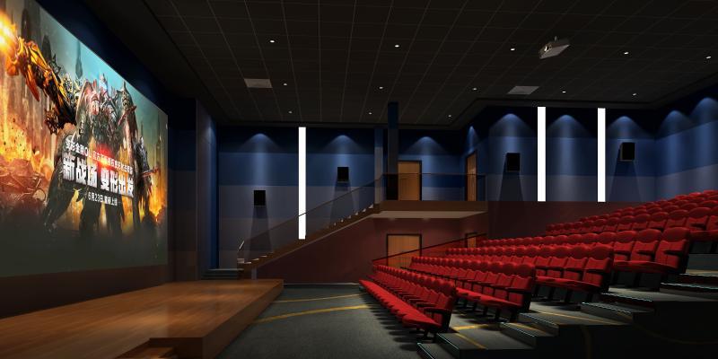 现代放映厅 电影院