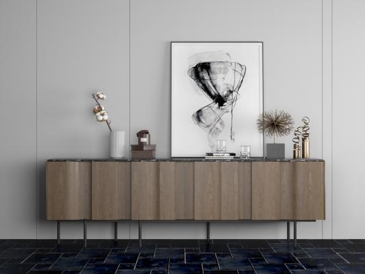 现代装饰柜电视柜边柜