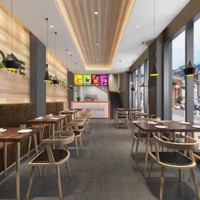 现代风格餐厅餐饮 快餐店