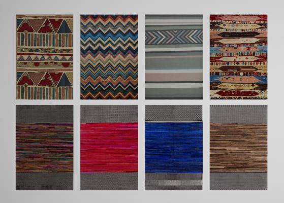 现代地毯装饰