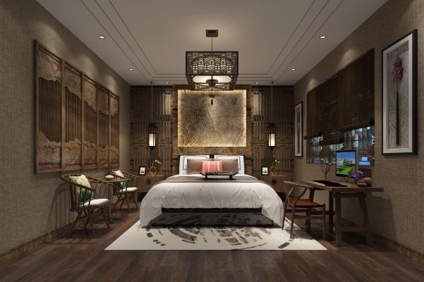 東南亞酒店客房 單間