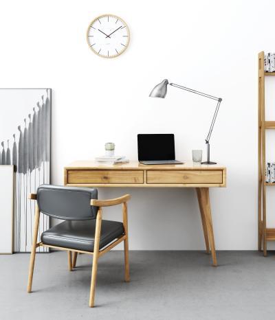 北欧书桌椅小景组合