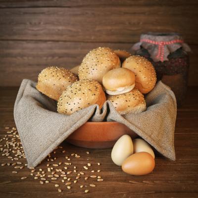 现代食物 面包 鸡蛋
