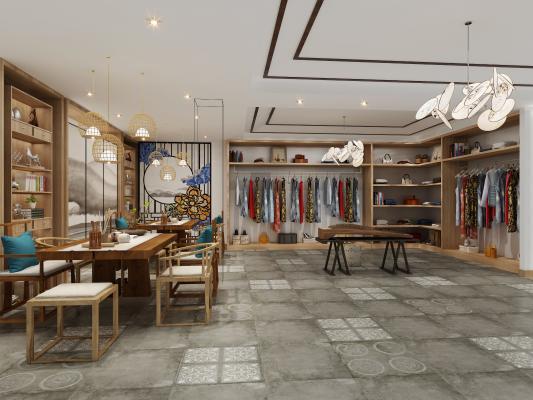 新中式服装店 旗袍