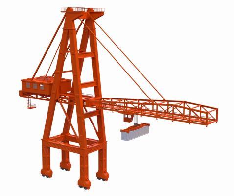 现代起重机 吊塔 吊车