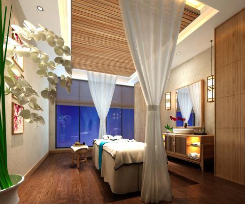 新中式spa会所