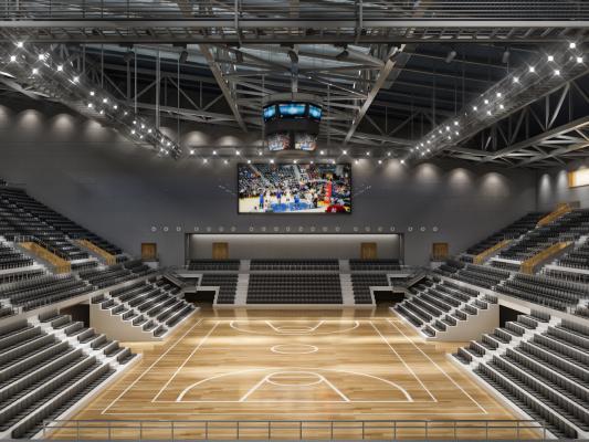 現代多功能體育館