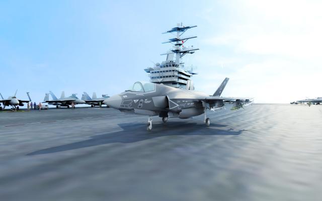 現代美國F35隱身戰斗機