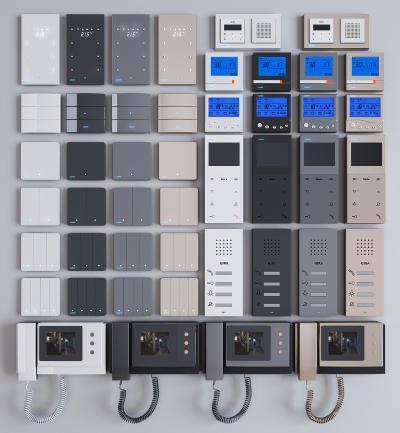 现代智能开关 插座面板
