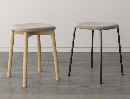 北欧简约凳子 换鞋凳 梳妆凳