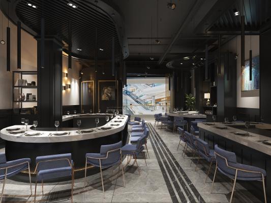 现代自助餐厅