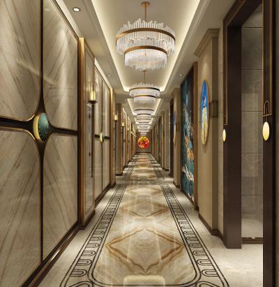 新中式KTV走廊