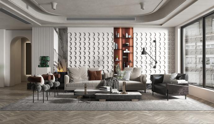 現代家居客廳