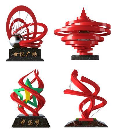 现代广场雕塑创意摆件