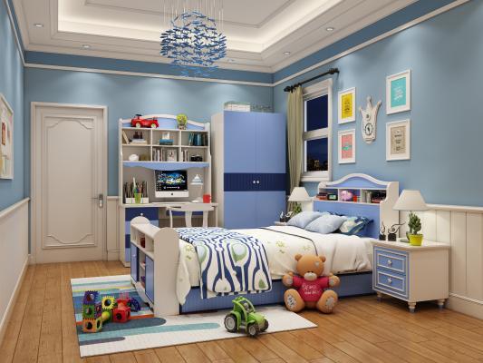 地中海卧室儿童房
